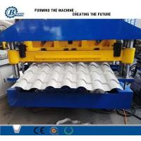 Cheap Automatic Aluminium Tile Roll Forming Machine For Roofing CE for sale