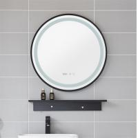 China Vintage design hotel bathroom LED lighted with magnification makeup mirror on sale
