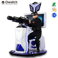 Coin Operated Gun Amusement Suppliers Gatling Shooting VR for Business Opportunity Manufactures