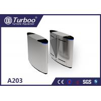 MCBF 5000000 Cycles Flap Barrier Turnstile Half Height Safety Access Control 550mm Manufactures