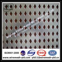 diamond hole perforated metal for filter,decoration mesh Manufactures