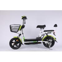 Lightweight Powerful 48V 12A Fold Up Electric Bike Lead Acid Battery With Peddle Manufactures