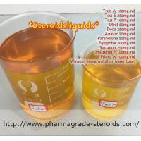 China CAS 10161-34-9 Tren Anabolic Steroid Yellow Trenbolone Acetate Steroid Powder on sale