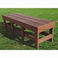 Bench, Wood/Plastic Composite, High Density, High Degree of UV Stability Manufactures