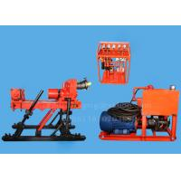 350m Fully Hydraulic Underground Drill Rigs , Diamond Core Drilling Rig JKD4000S Manufactures