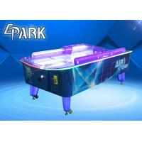 Cute Coin Operated Arcade Machines L Size Curved Air Hockey Table Manufactures