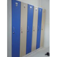 1 Tier Bule Employee Storage Lockers PVC Material With Master Combination Padlock Manufactures