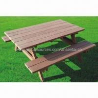 WPC PicnicTable, Wood Plastic Composite, High Density, High Degree of UV Stability Manufactures