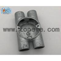 BS4568 Electrical Conduit Fittings Twin Through Way H Malleable Iron Box 20mm -32mm Manufactures
