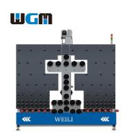 10KW Glass Processing Machines , Glass Loading Table PLC Control System Manufactures