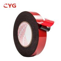 Thermal Insulation Waterproof Recycled Foam Tape Closed Cell Adhesive Sticker Manufactures