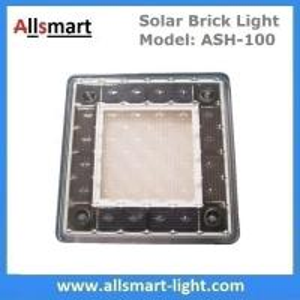 China 4x4 inch Solar Paver Lights Patio Solar Brick Lights Garden Landscaping Solar Underground Inground Lights on sale