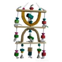 Multicolor Loofah Bird Toy Manufactures