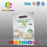 China Muffin Mix Snack Bag Packaging / Plastic Pouches for Yummy  Pastry on sale