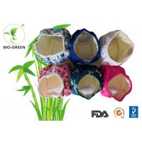 Customized Printed Bamboo Training Pants , Gentle Bamboo Baby Pull Ups Diapers Manufactures