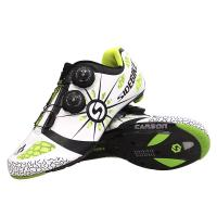 Carbon Fiber Cycling Trainers Mens Bright Color Printed Low Wind Resistance Manufactures