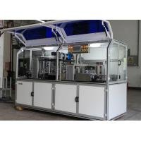 Cheap PLC control PVC card cutting machine with Three rows of card collecting boxes for sale