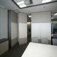 Buy cheap Fire Resistant Office Plywood Partition Wall / Sliding Room Dividers from wholesalers
