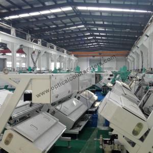 China 2800L/Min Quartz Sand 0.8Mpa CCD Camera Ore Color Sorter on sale