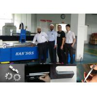 Double Drive CNC Sheet Metal Cutting Machine With Imported Laser Source , Water Cooling