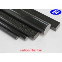 Round / Rectangular / Oval / Square Carbon Fiber Pultrusion With Matte Glossy Manufactures