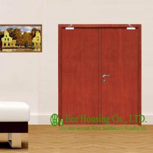 China 30/60/90 Wooden Fire Retardant Door For Commercial Building, With Hinge, Lock, Door Closer on sale