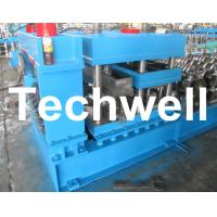 Grain Silo Corrugated Steel Sheet Roll Forming Machine For Corrugated Wall Panels Manufactures