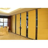 85 mm Thickness Sound Proofing Wooden Partition Walls With Aluminum Profile Manufactures