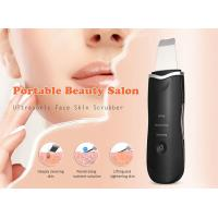 Rechargeable Ultrasonic Skin Scrubber Machine Facial Skin Scraper CE ROHS Approved Manufactures