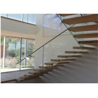 Building Floating Steps Staircase Glass Balustrade Stairs Extremely Aesthetically Pleasing Manufactures