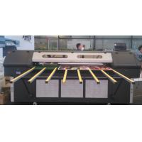 Double LED Lamps Roll to Roll UV Printer , Flatbed Large Format Color Printers 1440DPI Manufactures