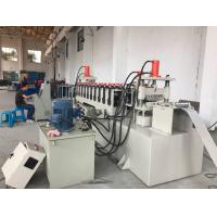 Cheap 12 Stations PLC Control Cable Tray Cover Roll Forming Machine 10-15m/min for sale
