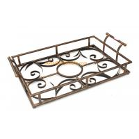 Quality assured custom designed different color decorative metal serving tray wholesale Manufactures