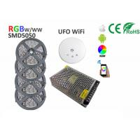 China 20m LED Strip Light Kit 5050 RGBW RGBWW 1200LEDs 60LEDs/M UFO WiFi controller on sale