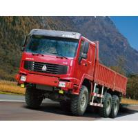 China COLORFUL 350HP 6x6 Heavy Cargo Truck All Wheel Drive , Diesel Truck on sale