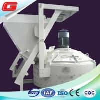 Cheap Middle Capacity 750 L White Concrete Planetary Mixer With Lift / Cement Scale for sale