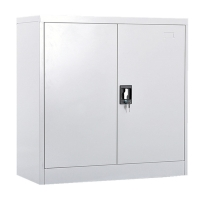 Office Furniture Steel Storage Book Cupboard File Cabinet with 4 Adjustable Shelves Manufactures