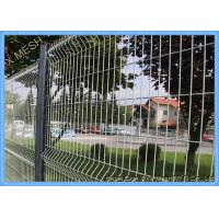 Perimeter Coated Welded Wire Fence Steel-P0002