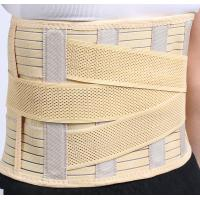 Quality New High Quality Double Pull Adjustable Elastic back brace Waist Support belt for sale