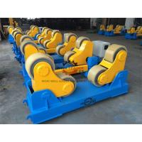20 Ton Rotary Capacity Pipe Welding Rollers Optional Wireless Remote control Manufactures