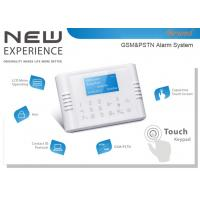 Quad-Band GSM+PSTN Dual Network Touch Keypad LCD Display Wireless Home Alarm System Manufactures