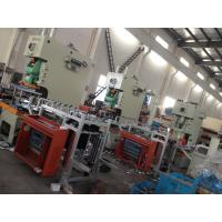 Automatic Airline Multicavity Aluminum Foil Food Container Machine , Punching Machinery