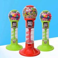 Buy cheap 110V 220V Spin Capsule Toy Machine / Gum Bouncy Ball Vending Machine from wholesalers