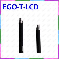 Ego T LCD 650mAh E Cigarette With Digital Display Puff Counter Ego T E Cigarette Manufactures