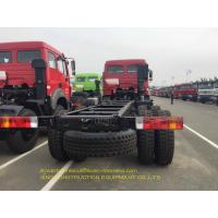 6x4 Cargo Vehicle Chassis Emission Standard Euro 2 Manual Transmission Manufactures