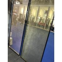 SGP Laminated Glass Partition With Metal Coated Polyester Mesh Fabric Manufactures