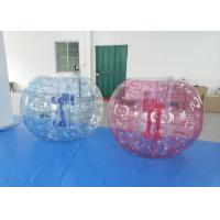 Outside Inflatable Bubble Soccer Colorful Body Bubble Bounce Football 1.5m Dia
