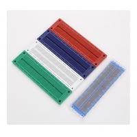 White Printed Circuit Board Solderless Breadboard 2.54mm Pitch Manufactures