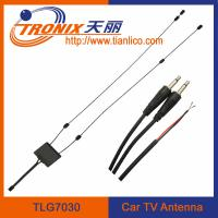 active car tv antenna with amplifier/ active uhf vhf tv signal amplifier TLG7030 Manufactures