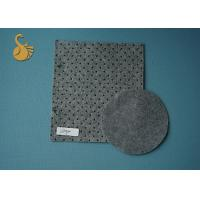 Needle Punched Grey Felt Fabric Exhibition Carpet in stock 4 Metres width Manufactures